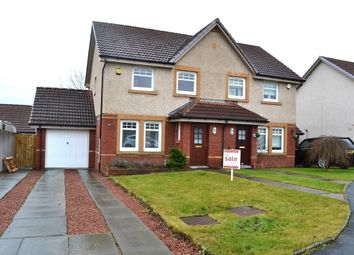 Thumbnail 3 bed semi-detached house for sale in 77, Mcmahon Drive, Newmains, Wishaw, North Lanarkshire
