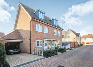 Thumbnail 3 bed semi-detached house for sale in Nicholas Way, Deal