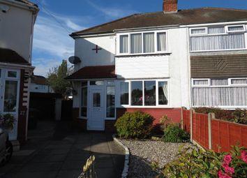 Thumbnail Semi-detached house for sale in Laburnum Road, Wednesbury