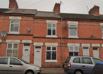 Thumbnail 3 bedroom terraced house for sale in Herschell Street, Evington, Leicester