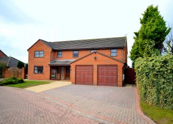 Thumbnail 5 bed detached house for sale in Stratton Park, Widnes