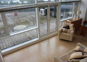 Thumbnail 1 bed flat for sale in Imperial Point, The Quays, Salford