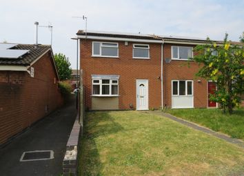 Thumbnail 3 bedroom end terrace house for sale in Penllech Walk, Nottingham