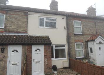 Thumbnail 3 bedroom terraced house to rent in Oaklands Terrace, Kessingland, Lowestoft