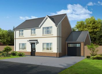 Thumbnail 4 bed detached house for sale in Weaver Green, Melton Mowbray