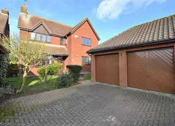 Thumbnail 4 bed detached house for sale in Lancaster Close, Weston Heights, Stevenage, Herts
