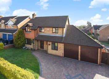 Thumbnail 4 bed detached house for sale in Belvedere Gardens, Chineham, Basingstoke