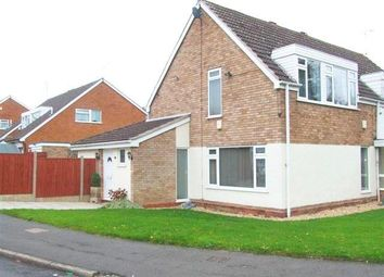 Thumbnail 3 bed semi-detached house to rent in Chadbury Road, Halesowen