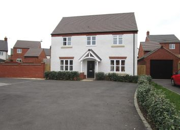Thumbnail 4 bed detached house for sale in Piper Avenue, Castle Donington, Derby