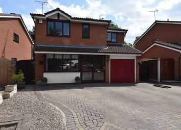 Thumbnail 4 bed detached house for sale in Hollowfields Close, Redditch