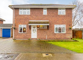 Thumbnail 4 bed detached house for sale in Clover Court, Grays