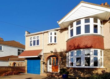 Thumbnail 6 bed semi-detached house for sale in Beverley Road, Worcester Park