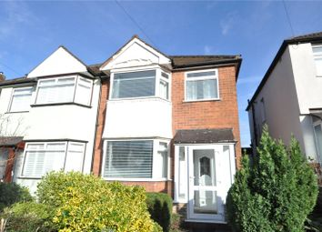 Thumbnail 3 bed semi-detached house for sale in Dell Road, Cotteridge, Birmingham, West Midlands