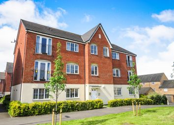Thumbnail 2 bedroom flat for sale in Wessington Court, Grantham