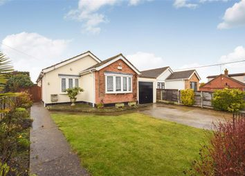 Thumbnail 3 bed detached bungalow for sale in Burnham Road, Hullbridge, Hockley