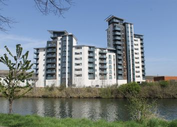 Thumbnail 2 bed flat for sale in Overstone Court, Chandlery Way, Cardiff
