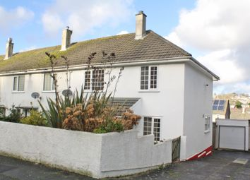 Thumbnail 3 bedroom end terrace house for sale in Erle Gardens, Plympton, Plymouth, Devon