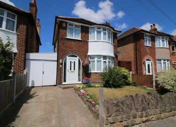 Thumbnail 3 bed detached house for sale in Newlyn Drive, Nottingham