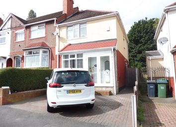 Thumbnail 2 bedroom end terrace house for sale in Darby Road, Wednesbury