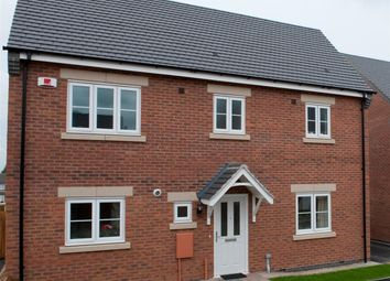 Thumbnail 3 bedroom detached house for sale in Pulford Drive, Thurnby, Leicester