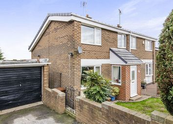 Thumbnail 3 bed semi-detached house for sale in Carleton Glen, Pontefract