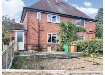 Thumbnail 3 bed semi-detached house for sale in Pulborough Close, Nottingham