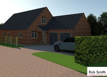 Thumbnail 4 bedroom land for sale in Vicarage Lane, Helpringham, Sleaford