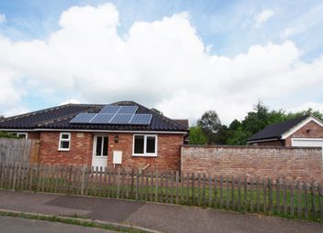 Thumbnail 2 bed detached bungalow for sale in Dovedale Road, Tacolneston, Norwich