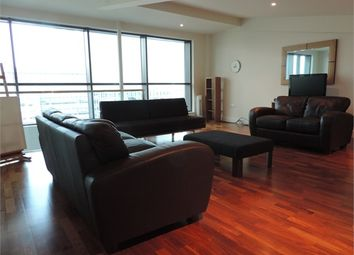 Thumbnail 2 bed flat to rent in Discovery Dock East, South Quay