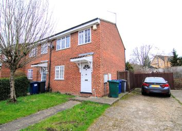 Thumbnail 3 bed end terrace house to rent in Elm Way, New Southgate, London