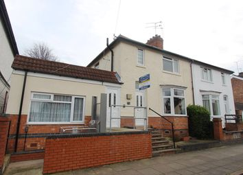 Thumbnail 4 bedroom semi-detached house for sale in Dunster Street, Leicester