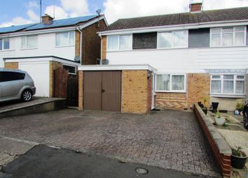 Thumbnail 3 bed semi-detached house for sale in Loseby Close, Rushden