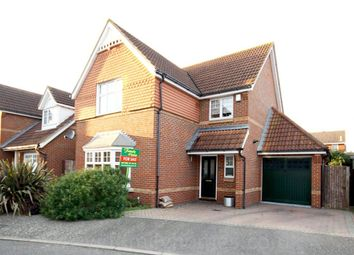 Thumbnail 4 bed detached house for sale in Wyvern Close, Milton Regis, Sittingbourne