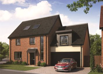 Thumbnail 4 bed detached house for sale in Plot 13 Bankside, Bell Road, Barnham Broom, Norwich