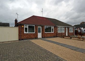 Thumbnail 2 bed semi-detached bungalow for sale in Alexandra Street, Thurmaston, Leicester