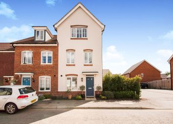 Thumbnail 4 bedroom end terrace house for sale in Clover Rise, Woodley, Reading