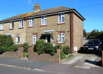 Thumbnail 3 bed semi-detached house for sale in Golf Road, Deal