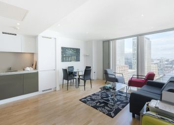 Thumbnail 1 bed flat to rent in Marsh Wall, Canary Wharf