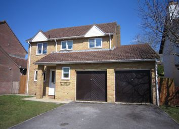 Thumbnail 4 bed detached house to rent in Angler Road, Salisbury, Wiltshire
