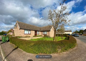 Thumbnail 2 bed bungalow to rent in Brookside, Great Paxton, St. Neots