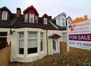 Thumbnail 3 bed terraced house for sale in Albany Avenue, Springboig