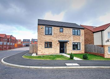 Thumbnail 3 bed detached house for sale in Brambling Place, Wideopen, Newcastle Upon Tyne