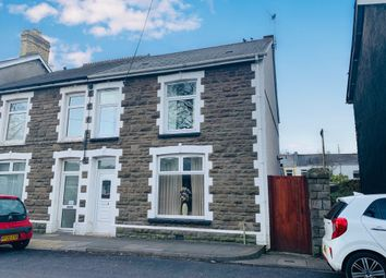 Thumbnail 3 bed semi-detached house for sale in Coopers Terrace, Ystrad Mynach, Hengoed