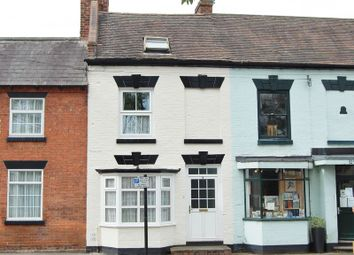 Thumbnail 4 bed terraced house for sale in High Street, Albrighton, Wolverhampton .