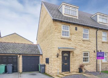 Thumbnail 3 bed semi-detached house for sale in Oxley Road, Huddersfield
