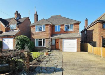 Thumbnail 4 bed detached house for sale in Burnt Common Lane, Ripley, Woking