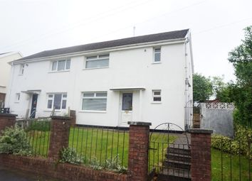 Thumbnail 3 bed semi-detached house for sale in West View Crescent, Trelewis, Treharris, Mid Glamorgan