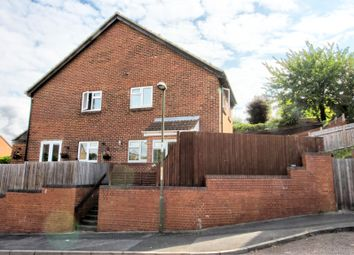 Thumbnail 1 bed end terrace house for sale in Bilsington Close, Walderslade, Chatham