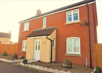 Thumbnail 4 bed detached house for sale in Law Grove, West Wick, Weston-Super-Mare