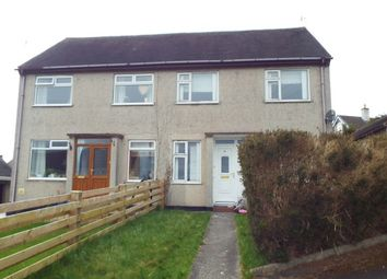 Thumbnail 3 bed semi-detached house to rent in Lon Y Bryn, Menai Bridge